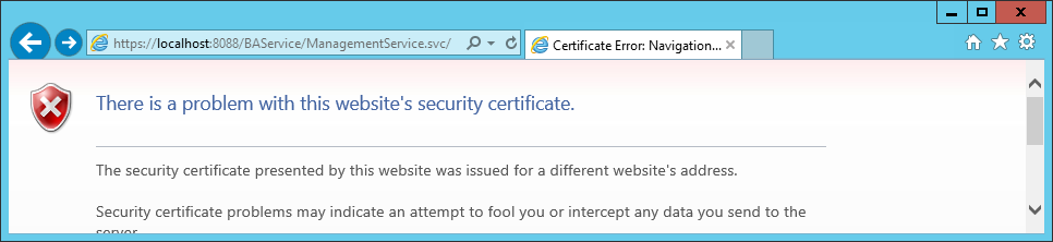 Azure BizTalk Services Management Service Certificate Error