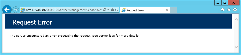 Azure BizTalk Services Management Service Request Error